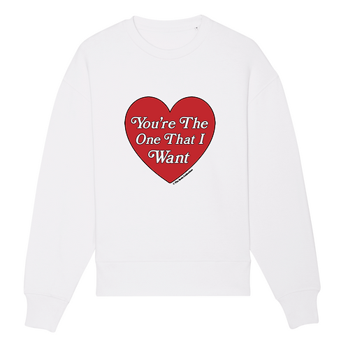 Sweat-Shirt You're The One That I Want