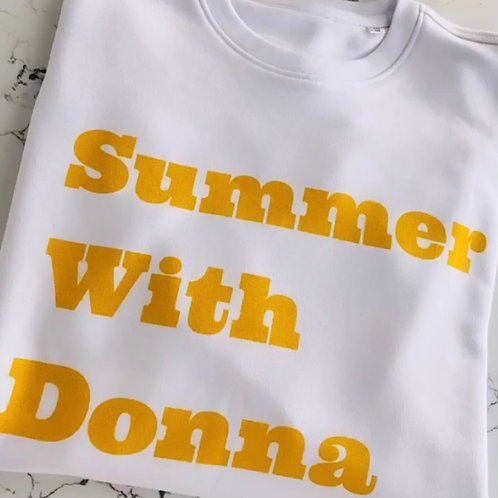 Sweat-Shirt Summer With Donna