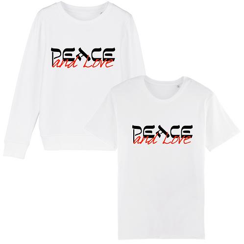 Coffret Peace & Love Sweat-Shirt + T-Shirt