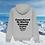 Thumbnail: Hoodie Gris Stations de Ski