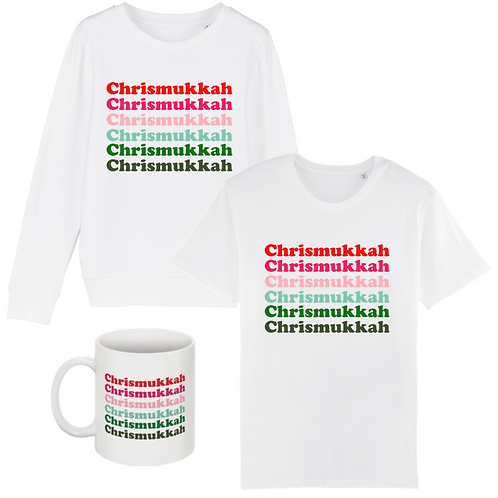 Coffret Chrismukkah : 1T-Shirt & 1Sweat &1MUG