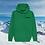 Thumbnail: Hoodie Vert Stations de Ski