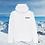 Thumbnail: Hoodie White Stations de Ski