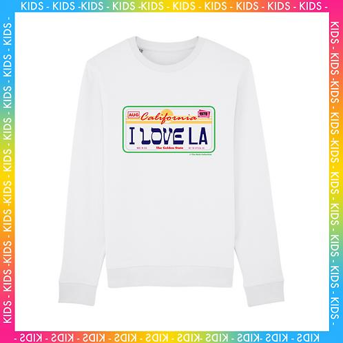 Sweatshirt I Love LA Enfant