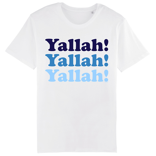 T-Shirt Yallah! Blue