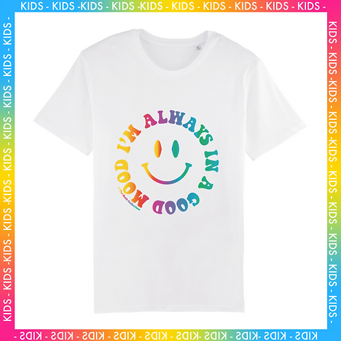 T-shirt Smiley Multico Enfant