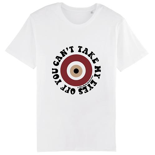 T-Shirt Evil Eye Burgundy