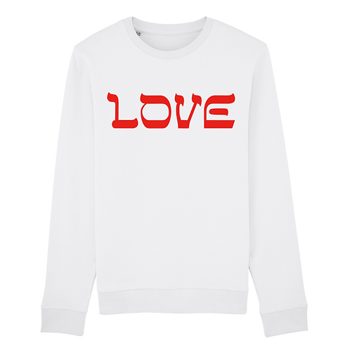 Sweatshirt Love Red