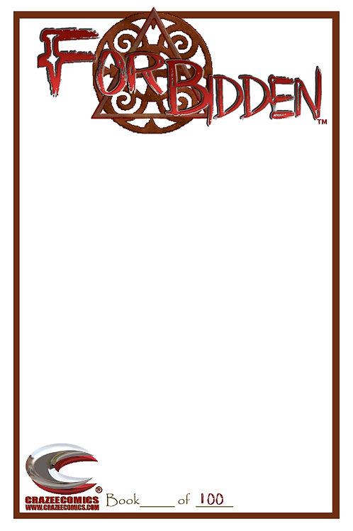 Forbidden Sketch Cover Edition