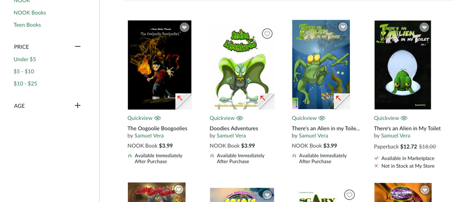 CosmicWars, Forbidden and more on B&N.com