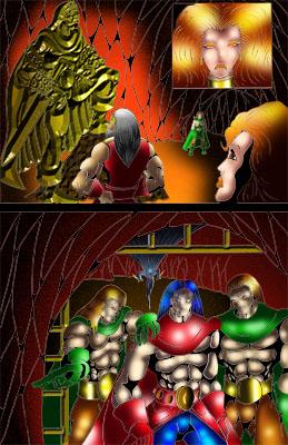 Forbidden Comic Original Pages