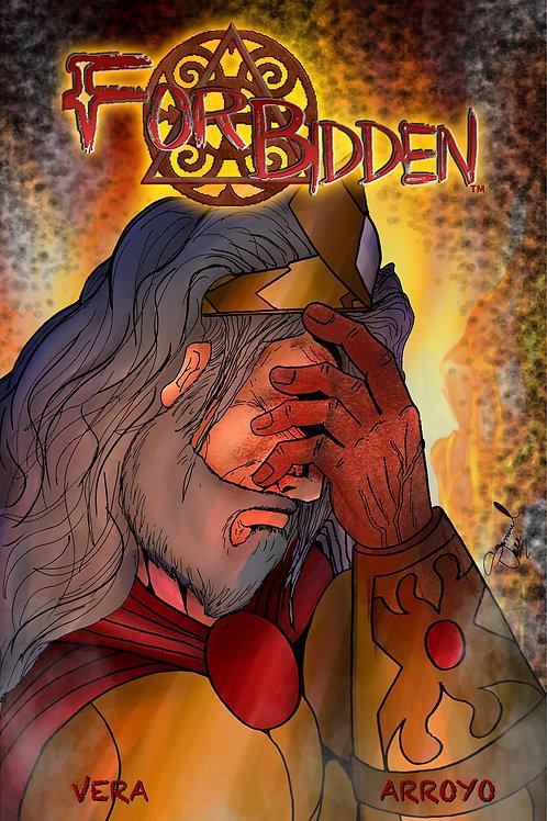 Forbidden #0 Gold Cover by Samuel Vera