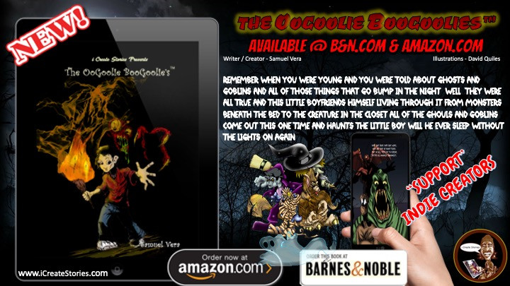 The Oogoolie Boogoolies Now on Amazon Kindle and Barnes & Noble Nook