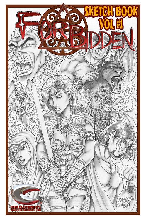 Forbidden Sketch Book Vol #1