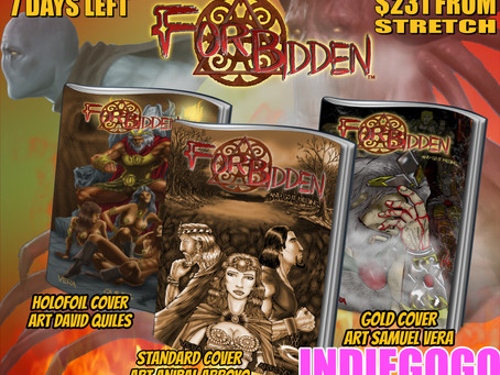 Just 7 Days away and $231 away from our First Stretch Goal