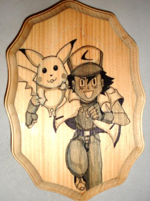 """Commission Wood Art 7"""""""