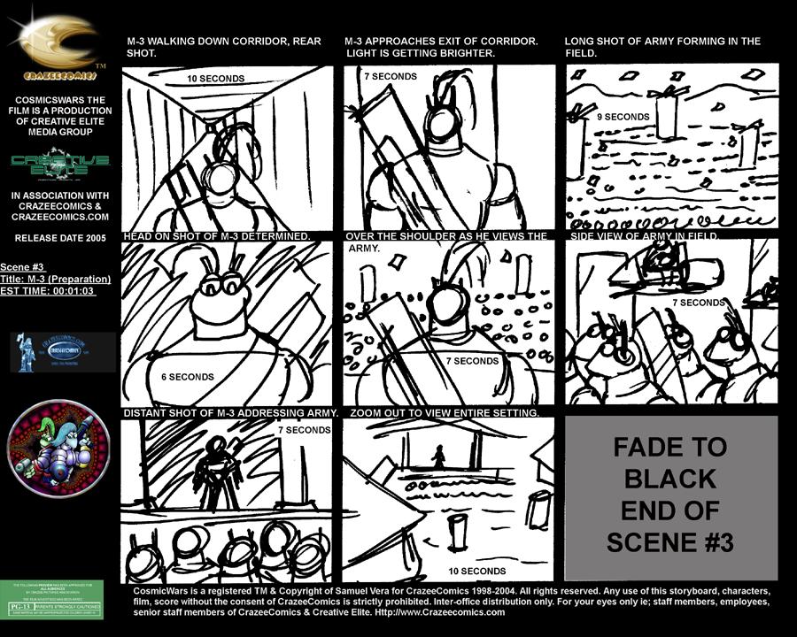 storyboard CosmicWars M3 Kingdom