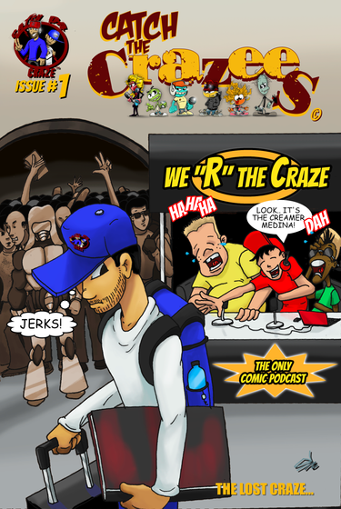 Catch The Crazee's Issue 1
