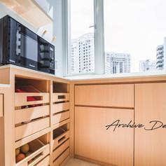 Amber suites Kitchen