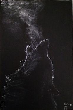 "<img src=""ml.jpg"" alt=""Акрил, полотно 10*15. Силуэт волка на чёрном фоне. Воет, идёт пар изо рта."">"