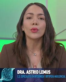 Dra. Astrid Lemus en El Heraldo TV
