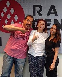 Dra. Astrid Lemus en Grupo Radio Centro