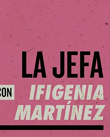 Logo de La Jefa