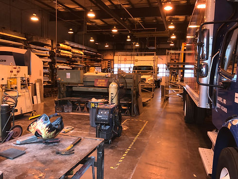 Medium and heavy duty truck repair facility