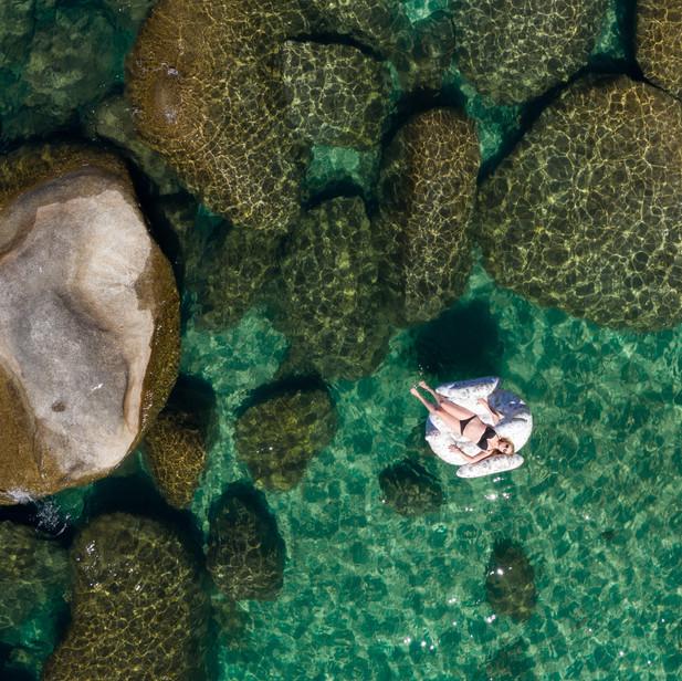 Lake Tahoe Drone