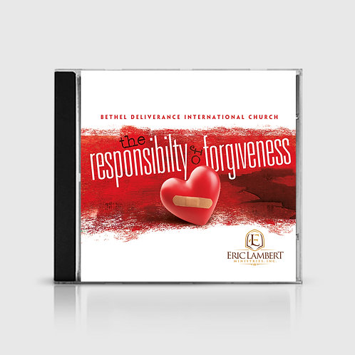 DVD | Responsibility of Forgiveness: 4 Part Series