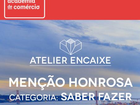Menção Honrosa na Categoria: Saber Fazer, Academia do Comércio de Lisboa