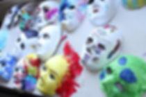 Weekend workshop maskers maken