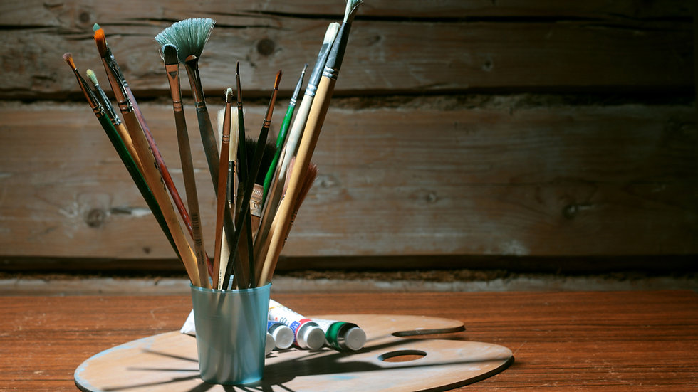 stock-photo-brush-easel-background-30353