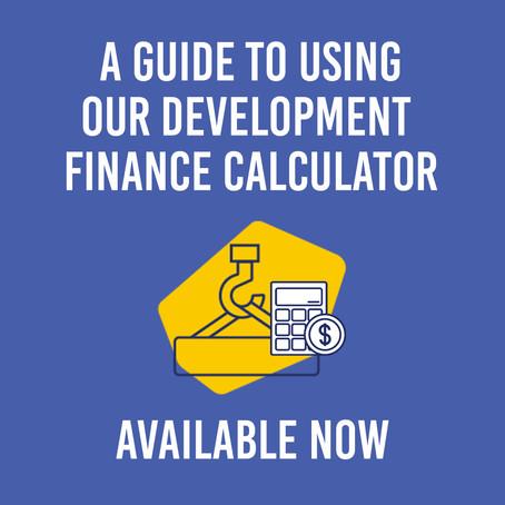 Development Finance Calculator Guide
