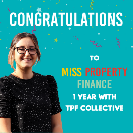 1 Year Anniversary, Miss Property Finance, Case Manager