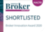 Broker Innovation Award 2020 - shortlist