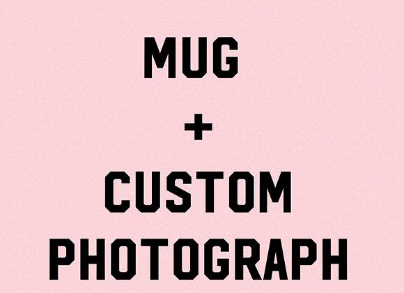 Mug + Custom Photograph