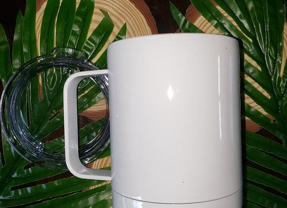 10oz Steel Mug with Lid