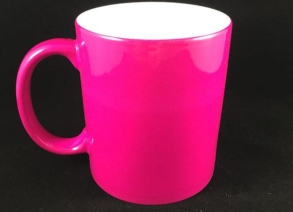 Pink Color Changing Mug
