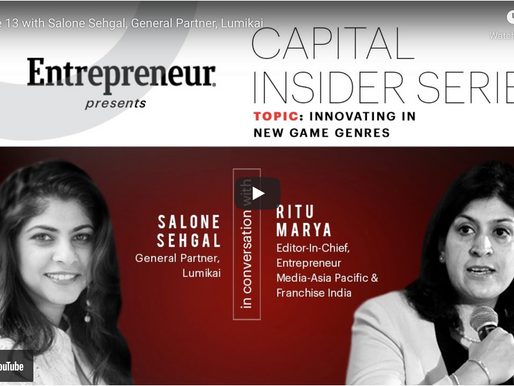 The future of digital gaming is on mobile devices: Episode 13 on Entrepreneur.com with Ritu Maurya