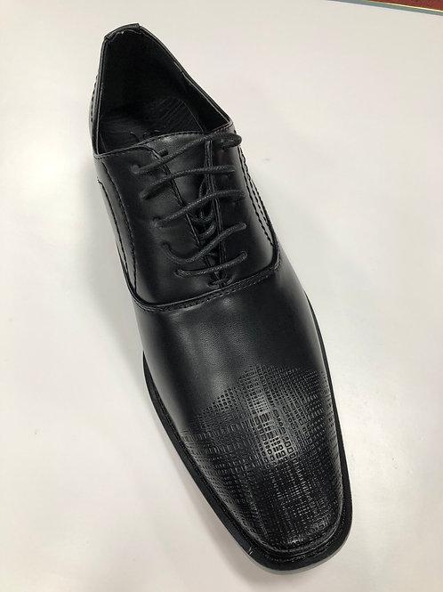Gino Pheroni Black Lace-up Shoe