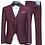 Thumbnail: Ideal 3PC Slim Fit Suit