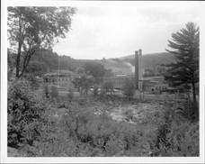 Vue du site de La Rolland de l'autre côt