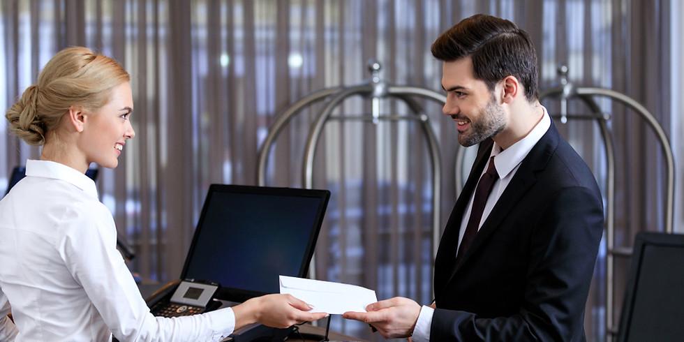Olsztyn - Profesjonalny recepcjonista (dwudniowe)