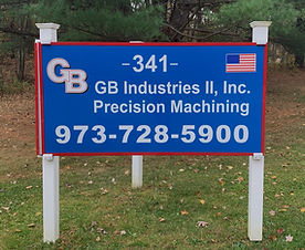 GB Industries II Sign
