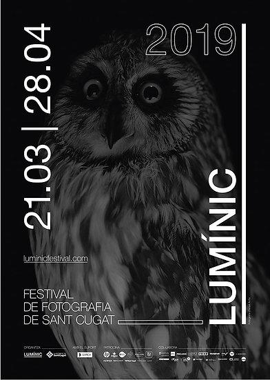 Poster mapa 1ª Edición Lumínic Festival