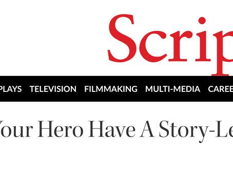 Script Magazine Article: Must Your Hero Have A Script Level Goal?