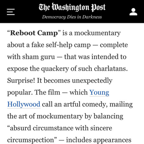 Reboot Camp Washington Post
