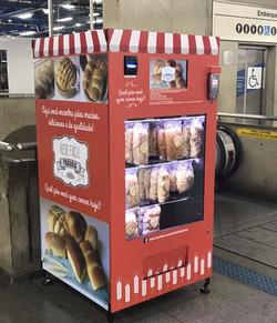 vending machine de lanchês