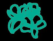 grafismo-em-verde-parecendo-uma-flor.png